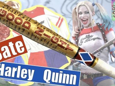 Cómo hacer el BATE del disfraz de HARLEY QUINN de Suicide Squad. Parte 3