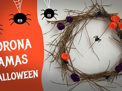 Corona de Halloween :: Chuladas Creativas