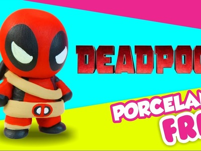 ❤ Deadpool CHIBI ❤ Porcelana Fría. Pasta Francesa ★ El Arte de Pau ★