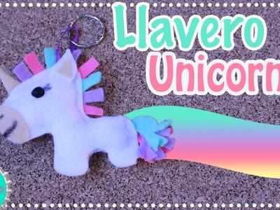 DIY: Llavero de Unicornio con Plantilla (Fácil). Floritere
