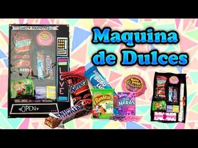 DIY Maquina expendedora de dulces.regalo original - Ingenio KD