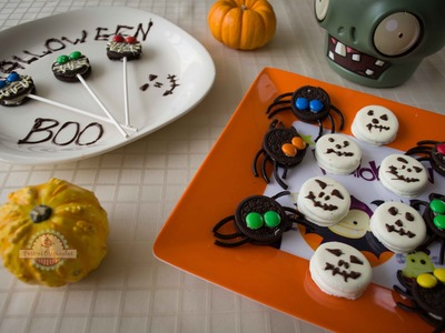 Ideas para Halloween con Galletas Oreo - Cocinar con Niños
