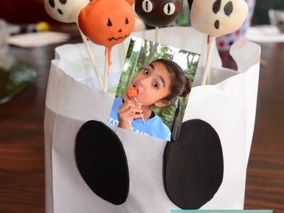 Xime Ponch Halloween Cake Pops Video 13 Paletas de calabaza, fantasmas y gatos