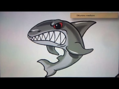 Como dibujar un tiburon - Art Academy Atelier Wii U | How to draw a shark