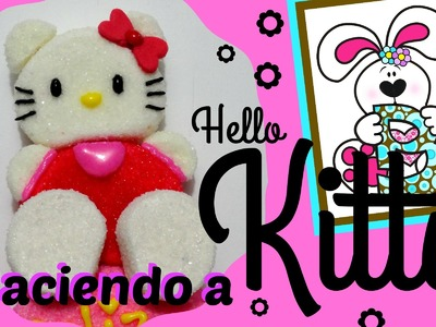 Como hacer a Kitty de Bombón - How to make a Marshmallow Kitty