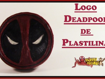 Como Hacer Logo Deadpool de Plastilina.Porcelana Fria.How To Make Deadpool Logo with Plasticine