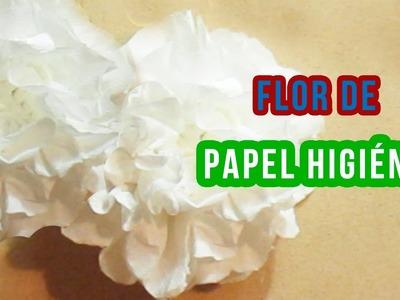 DIY Flor de Papel Higiénico