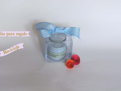Como hacer cajitas de regalo con botellas pet reciclaje
