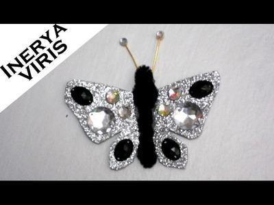 Como hacer MARIPOSAS para decorar -B - Fantasía Disfraces Vestuarios Tutorial -  Inerya viris