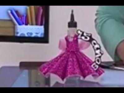 Como hacer un Recordatorio para una fiesta de  15 Años - Hogar Tv  por Juan Gonzalo Angel