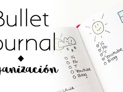 Cómo organizo el bullet journal   Bullet Journal   Organización