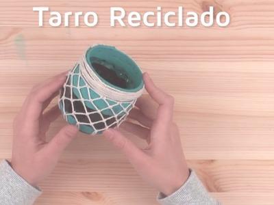 Cómo reutilizar y decorar tarros con cuerda | facilisimo.com