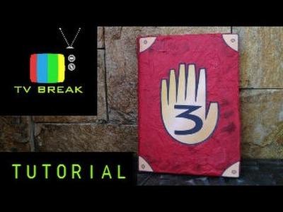 DIY: GravityFalls - Como hacer el diario 3 de Gravity Falls
