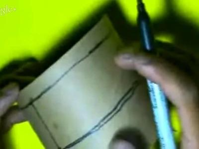 Base para celulares opcion 2 de 2 material reciclado tubo de papel higienico