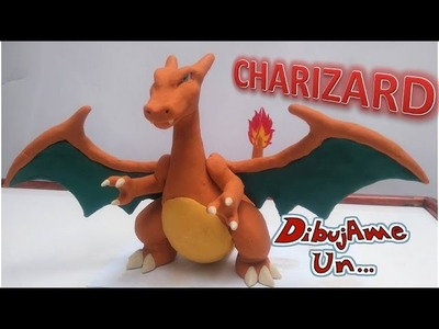 Como Hacer a CHARIZARD (POKEMON) con plastilina. How to Make POKEMON CHARIZARD in clay