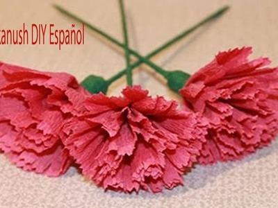 Como Hacer Flores de Papel Crêpe Fáciles y Bonitas Para el Día de Muertos