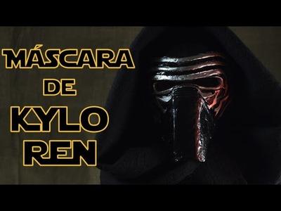 Cómo hacer la máscara de Kylo Ren