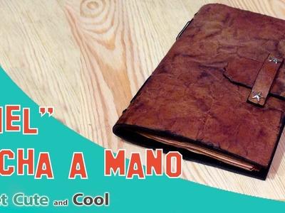 Cuaderno de piel handmade