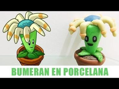 PLANTS VS ZOMBIES 2 BUMERÁN EN ✓ PORCELANA ✓ PLASTILINA ✓ ARCILLA POLIMERICA