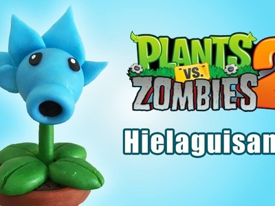 PLANTS VS ZOMBIES 2 HIELAGUISANTE EN ✓ PORCELANA ✓ PLASTILINA ✓ ARCILLA POLIMERICA ✓ POLYMER CLAY