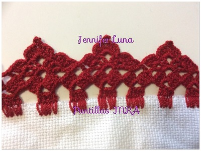Puntilla para servilleta MRA Rosa Tepehua 1