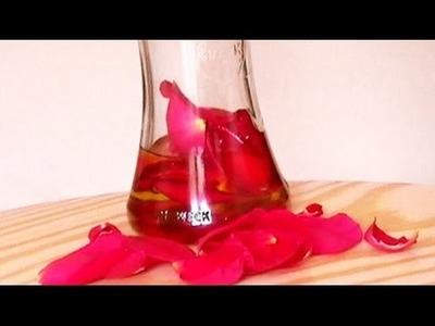 Cómo hacer perfume de rosas en aceite