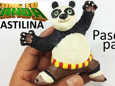 ✅COMO HACER A KUNG FU PANDA EN PLASTILINA PASO A PASO   ✅ POLIMER CLAY