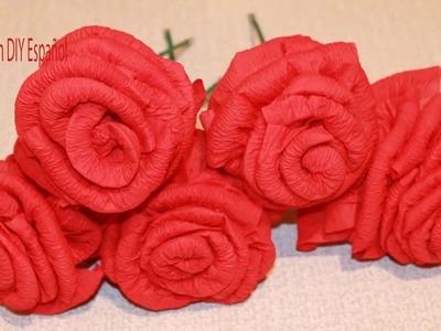 Como Hacer Rosas de Papel Servilleta