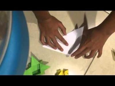 Como hacer un globo terráqueo de papel fácil y sencillo