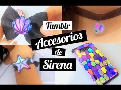 DIY - Accesorios tumblr de sirena que cambian de color – (PARTE 2)