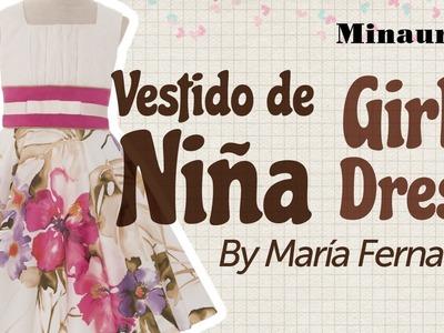 Girl Dress - Vestido Niña (MR17)  - Vestito Bambina - Robe Fille - Mädchen-Kleid