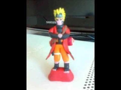 Naruto Modo Ermitaño de plastilina