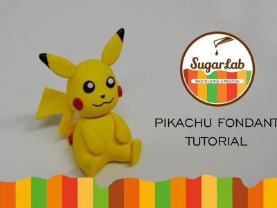 Pikachu Fondant Tutorial - Como hacer a Pikachu en fondant