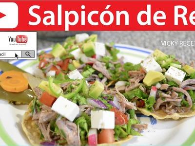 SALPICÓN DE RES | Vicky Receta Facil