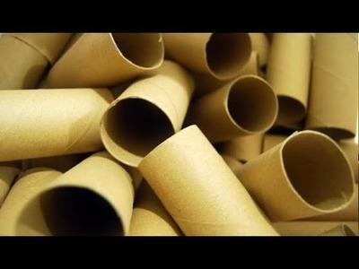 11 cosas increíbles pueden hacerse usando rollos de papel higienico