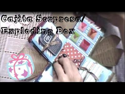 Caja Explosiva. Exploding Box Para mi novio ❤