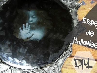 Cómo hacer un espejo para tu decoración de Halloween