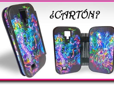 Cómo hacer una funda para el celular con ¿Cartón? | Pablo Inventos