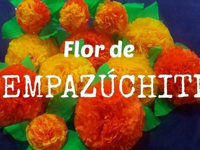 Flor de Cempazuchitl