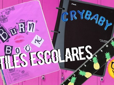 ¡Decora tus útiles escolares! | Mean Girls, Melanie Martinez, Tumblr