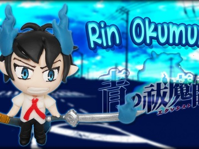 ✰ Rin Okumura Chibi Tutorial ✔ Polymer Clay ✔ Porcelana Fría ✔ Plastilina
