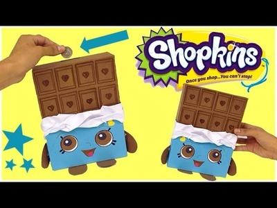 Shopkins,como hacer una Alcancía FACIL de SHOPKINS,Juguetes en español