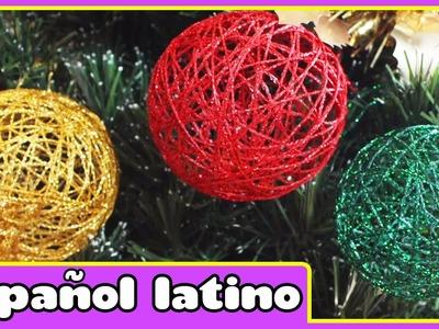 Como Hacer Adornos Navideños  - Christmas Ornament | Manualidades de Navidad by Hooplakids Latino