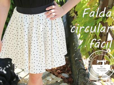 Cómo hacer una falda circular fácil