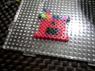Como hacer una maquina de chicles de hama beads