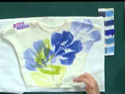 Sublimación sobre Camisola   Adriana Dadamo en Bienvenidas Tv