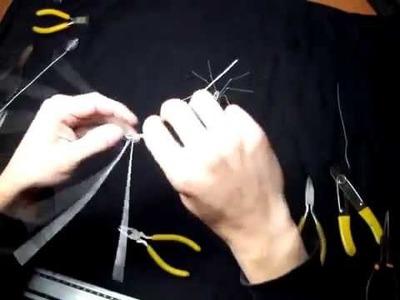 """Tutorial """" Araña de alambre """""""