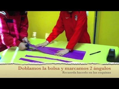 """Tutorial """"Delantal del Día de la Paz"""" en el Colegio Bartolomé Cossío (Aluche)"""