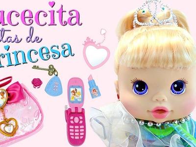 BAby Alive Cositas de princesa Muñeca Lucecita• Bolsita para muñeca