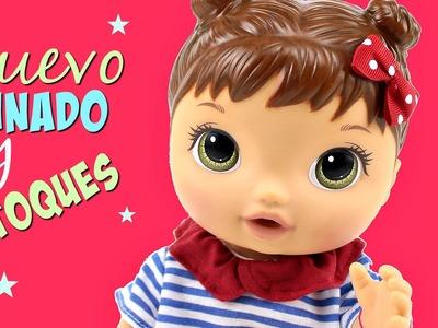 Cómo cambiar de Peinado y hacer retoques de pintura a tu Muñeca Baby Alive
